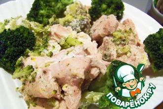 Рецепт: Курица Весенняя