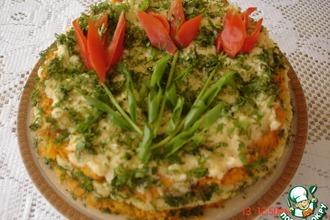 Рецепт: Овощной торт с сыром