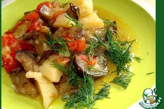 Рецепт: Овощи из духовки