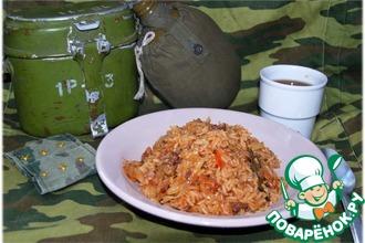 Рецепт: Ленивые голубцы по-армейски