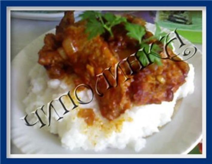 Рецепт: Свинина по-древнекитайски