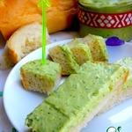 Яичный паштет Зелeный с соевым соусом