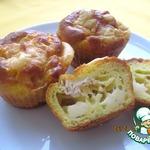 Закусочные маффины с кукурузой и тунцом