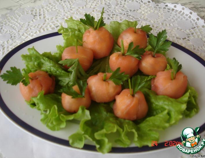 Рецепт: Закуска Молодильные яблочки