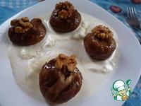 Десерт Инжир с грецким орехом ингредиенты