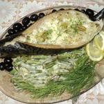 Скумбрия, запечённая с рисом и моцареллой Субмарина