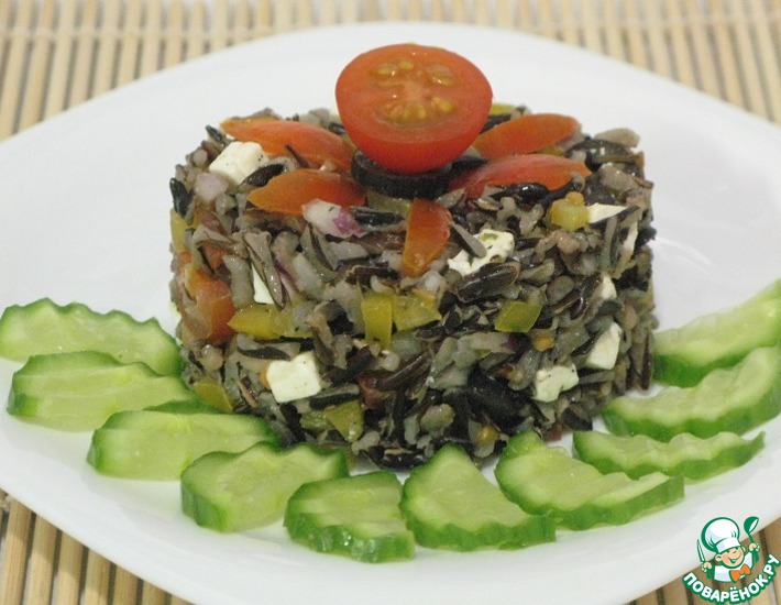 Рецепт: Салат Акватика
