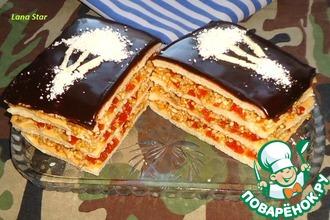 Рецепт: Пирожные с воздушным рисом