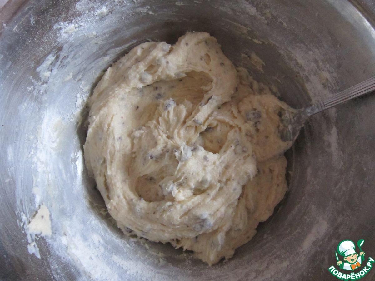 Творожно-манное бисквитное печенье