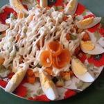 Салат из киви Весеннее настроение