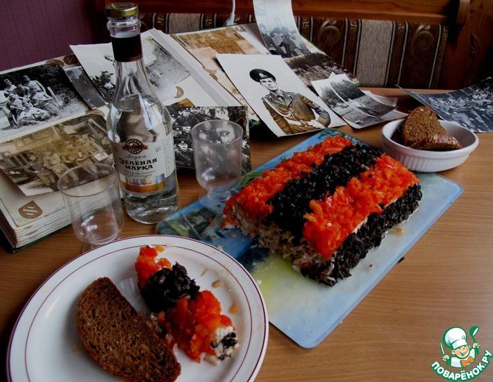 Рецепт: Салат Гвардейский с тунцом