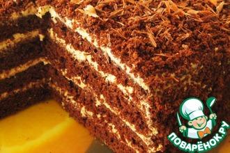 Рецепт: Торт кофейно-шоколадный