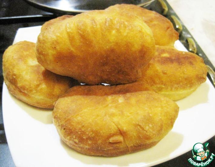 Рецепт: Пирожки нежирные Для начинающих