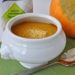 Суп-пюре из зеленой гречки и тыквы