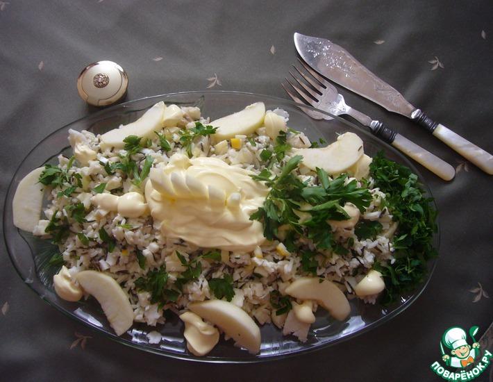 Рецепт: Салат рыбный по-шотландски