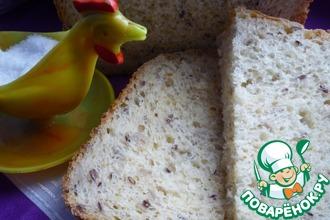 Рецепт: Овсяный хлеб с кукурузой