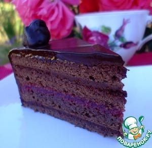 """Торт """"Малиновый трюфель"""" – кулинарный рецепт"""