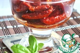 Рецепт: Вяленые томаты длительного хранения без холодильника