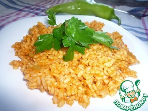Bulgur Turkish