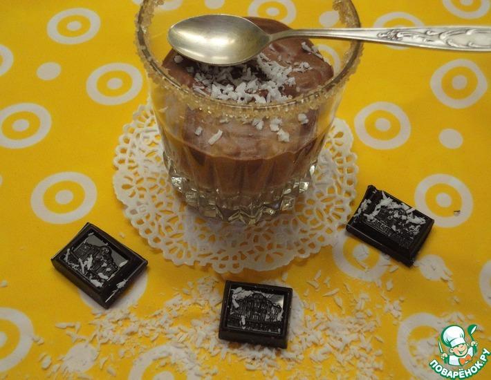 Рецепт: Шоколадный десерт с рисом