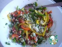 Салат рисовый с перцем ингредиенты