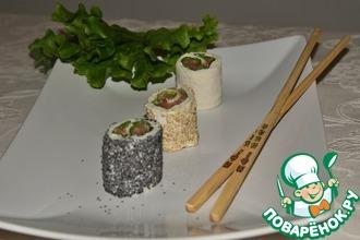 Рецепт: Суши по-итальянски