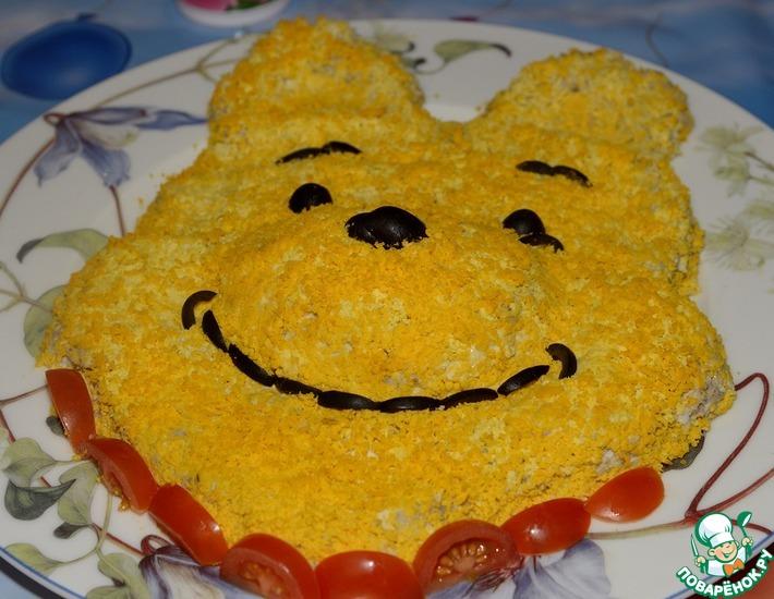 Рецепт: Салат Винни-Пух