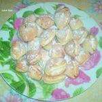 Творожное печенье Ракушки с вареньем
