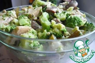 Рецепт: Салат Зелененький
