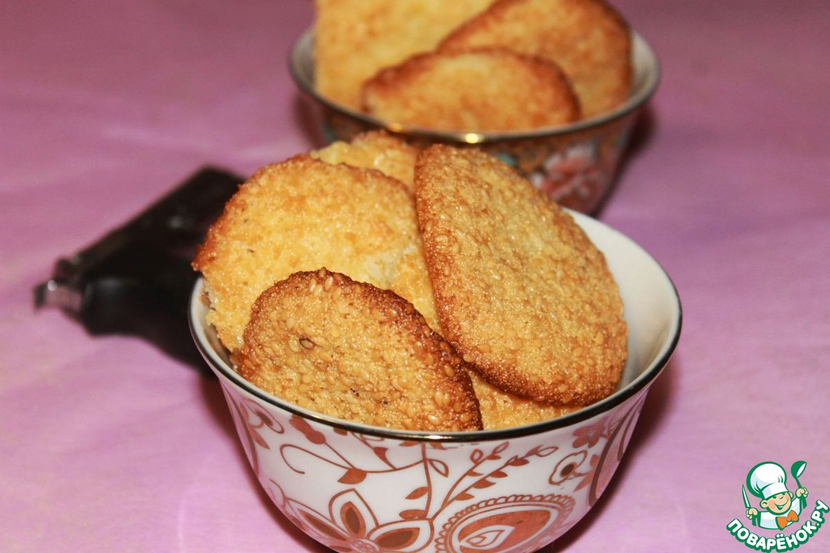"""Марокканское печенье из семолины """"Гхуриба"""""""