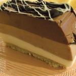 Творожный террин Три шоколада