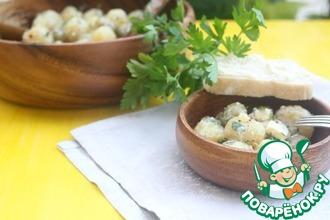 Рецепт: Картофельный салат с фетой