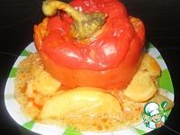Болгарский перец, фаршированный мясом с гречкой ингредиенты