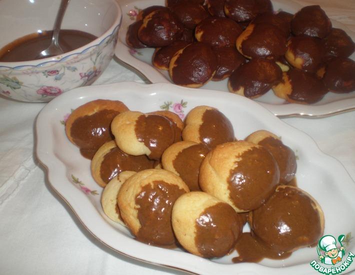 Рецепт: Сладкий урбеч и вкусное печенье к завтраку Рота, подъем!!!