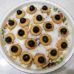 Салат Великолепный с солёным крекером