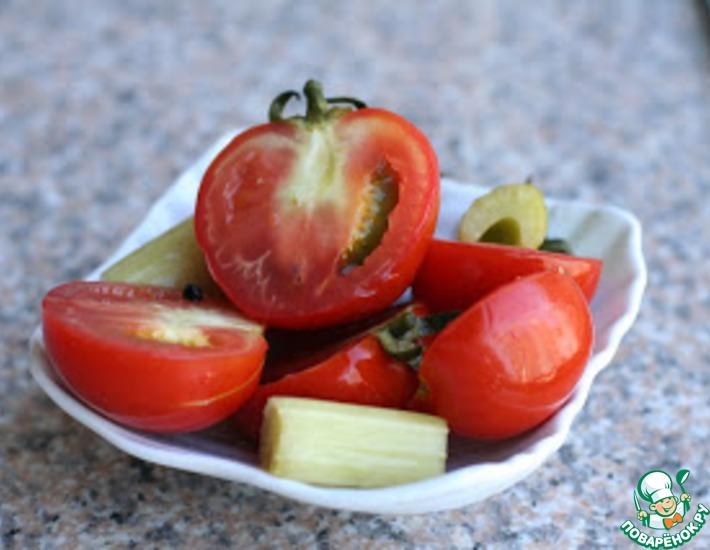 Рецепт: Соленые помидоры