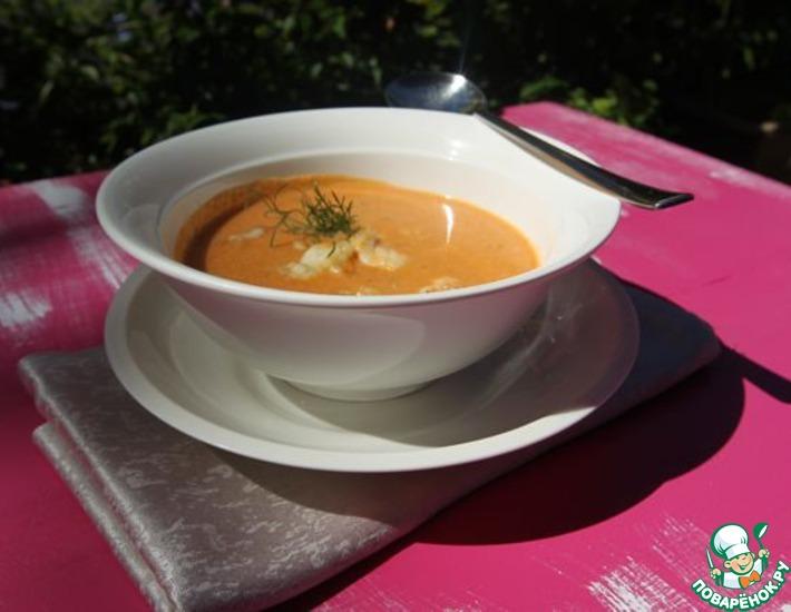Рецепт: Крем-суп из лобстера