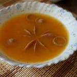 Тыквенный суп с сосисками