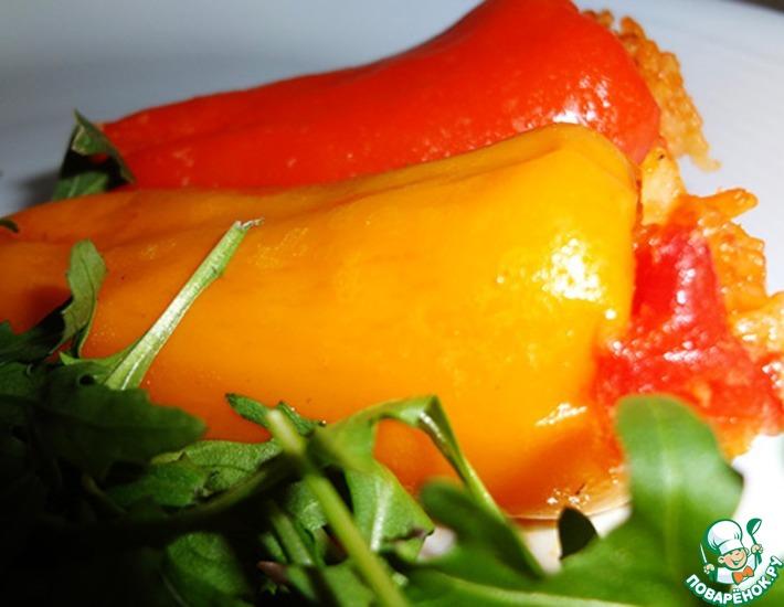 Рецепт: Фаршированные закусочные мини-перцы