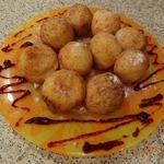 Творожные пончики Сюрприз