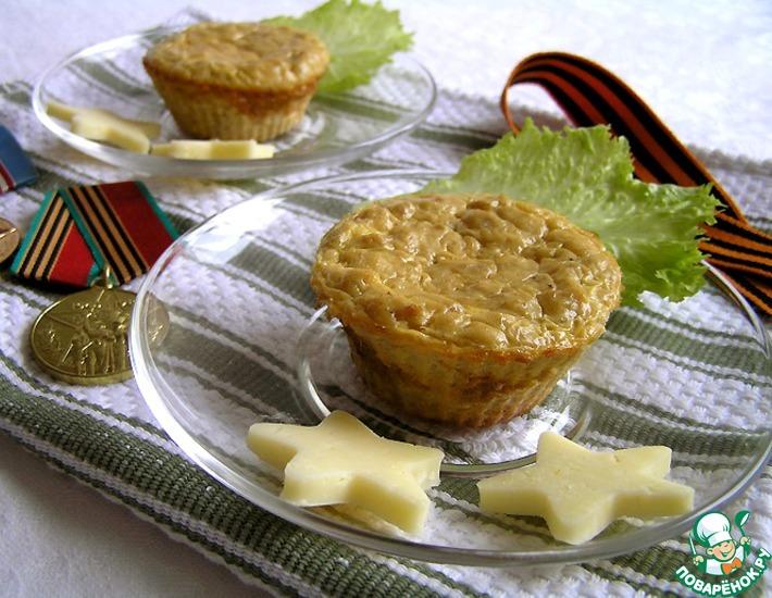 Рецепт: Мясное суфле с зеленой гречкой