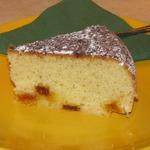 Манный кекс с мармеладом