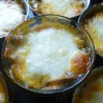Овощной жульен с сыром Сулугуни