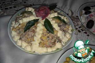 Рецепт: Шпротный салат Старая Рига