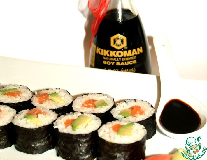 Рецепт: Суши элементарно