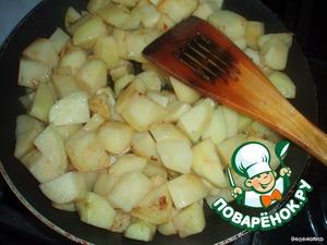 Тушеный картофель с пивом – кулинарный рецепт