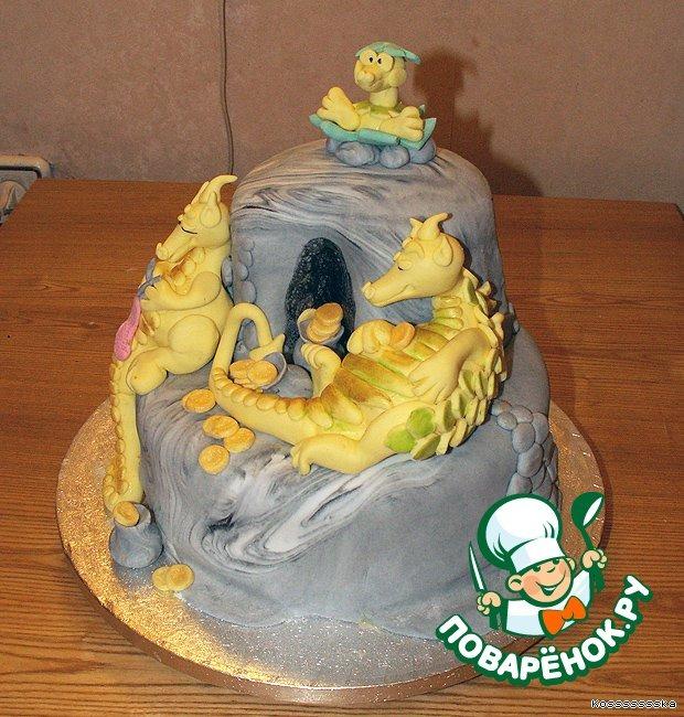 Торт Семья Драконов