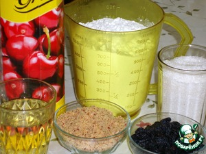 Кекс на вишневом соке – кулинарный рецепт