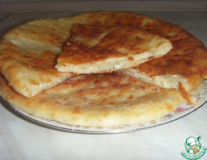 Рецепт: Сырные лепёшки