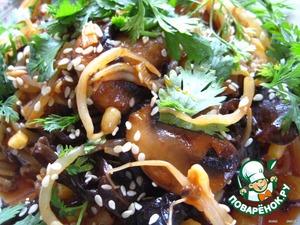 Овощной гарнир по-китайски – кулинарный рецепт